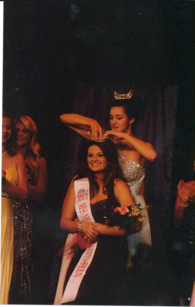 Freshman Kennedy Frankly is crowned Miss Northwest Oklahoma Citys Outstanding Teen in nearly November.