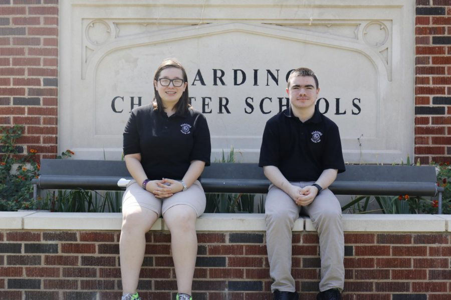 Seniors Addison Franca and Camron Bowman were recognized by the College Board for their outstanding PSAT scores.