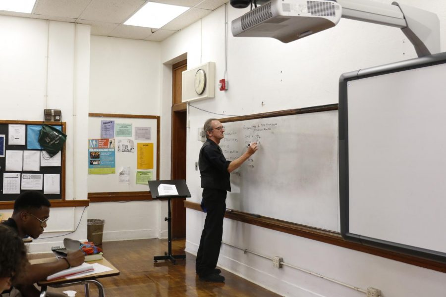 Pre-Calc teacher Randall Abrams reviews trig identities