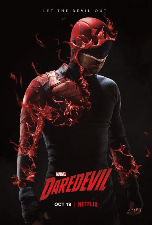 Marvels Daredevil Season Three promotional poster.  From: https://twitter.com/Daredevil/status/1052564441332477952?ref_src=twsrc%5Etfw%7Ctwcamp%5Etweetembed%7Ctwterm%5E1052564441332477952&ref_url=https%3A%2F%2Fcomicbook.com%2Fmarvel%2F2018%2F10%2F17%2Fdaredevil-season-3-poster-netflix%2F