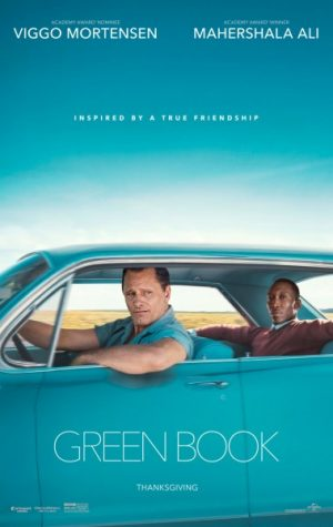 "Promotional poster for the ""Green Book."""