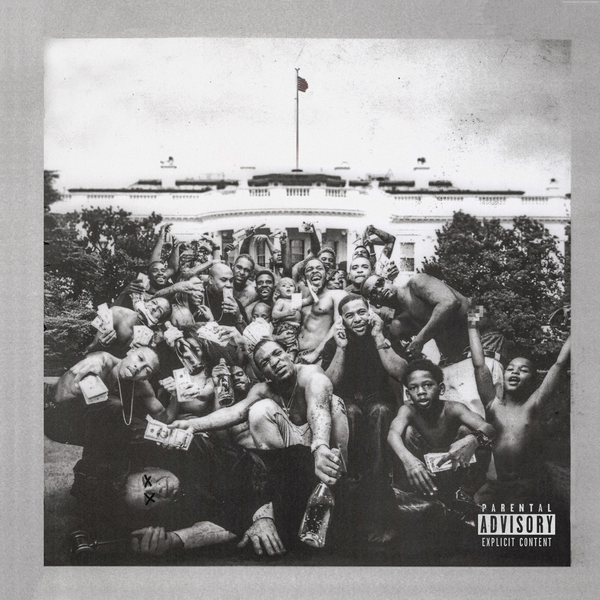 The album art for Lamars third album, 2015s To Pimp A Butterfly.