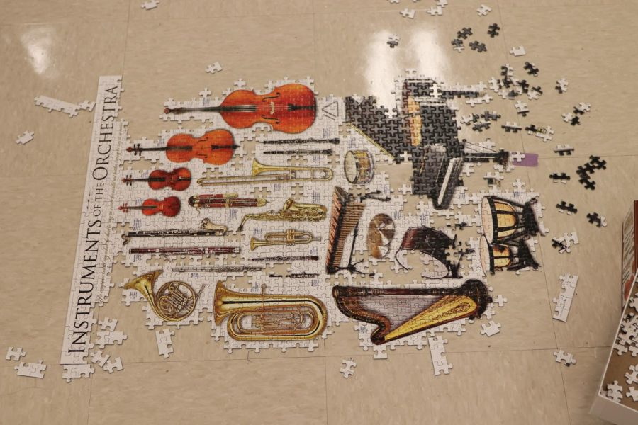Puzzle of instruments