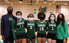 Navigation to Story: Volleyball season closes with Senior Night